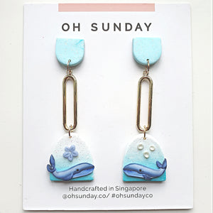 Whale You Love Me Series Statement Dangle 7