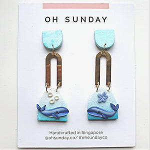 Whale You Love Me Series Statement Dangle 6