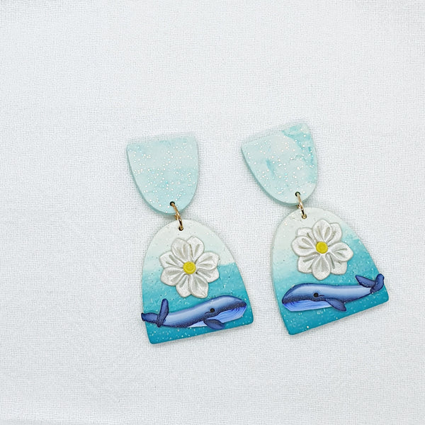 Whale You Love Me Series Statement Dangle 14