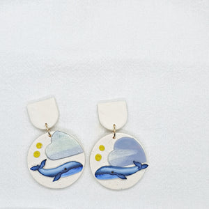 Whale You Love Me Series Statement Dangle 4