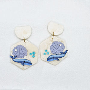 Whale You Love Me Series Statement Dangle 13