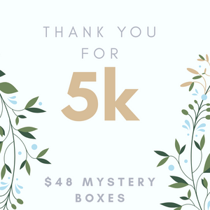 Thank You for 5K Mystery Boxes