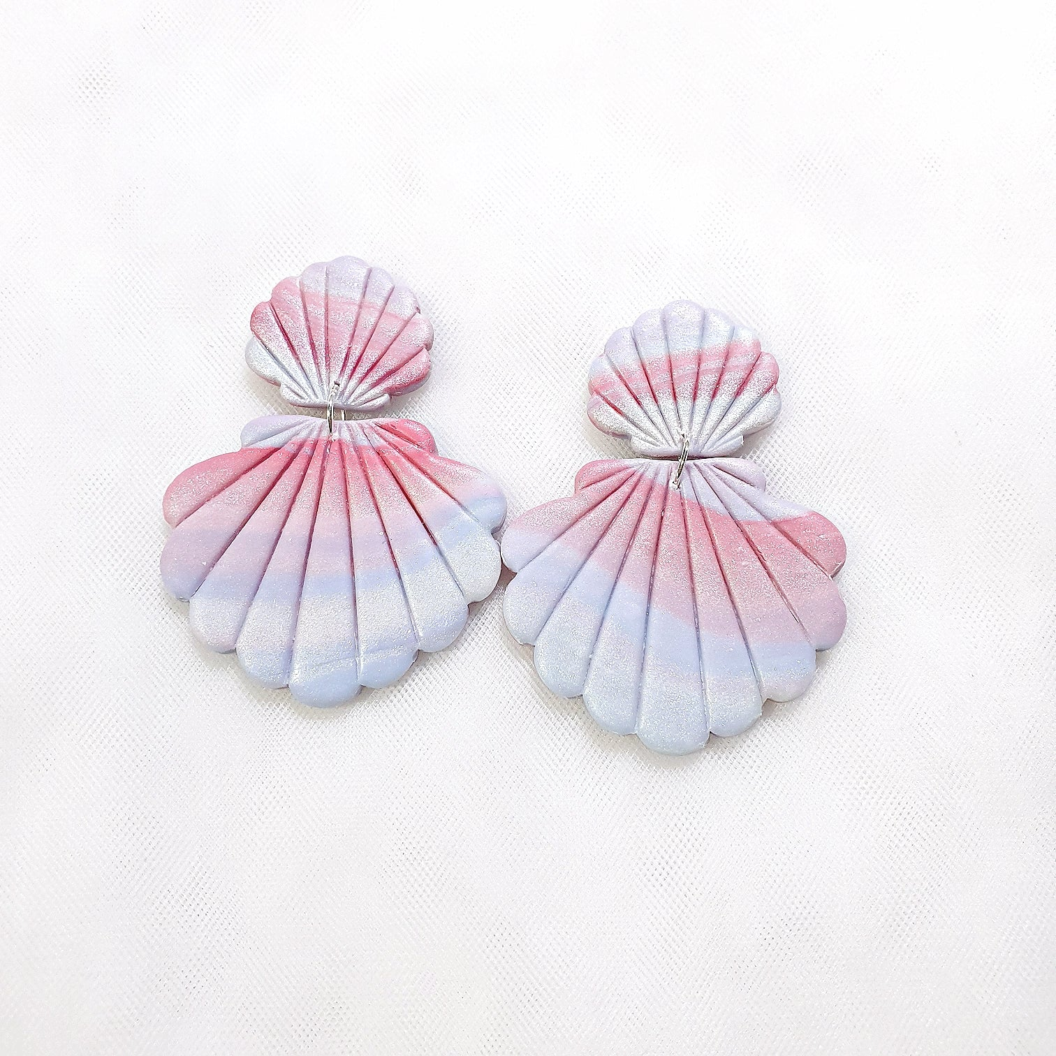 Pastel Series Dual Shells Dangle 2