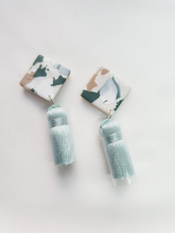 Green with Envy Terrazzo Series Tassel 3