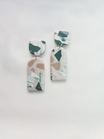 Green with Envy Terrazzo Series Dangle 4