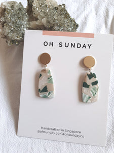 Green with Envy Terrazzo Series Dangle 3