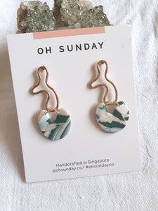 Green with Envy Terrazzo Series Dangle 1