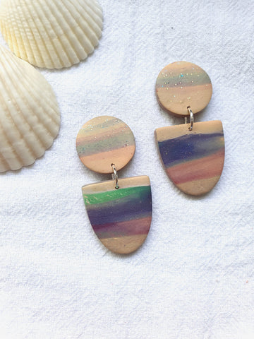Sunset Marble Series Dangle 11