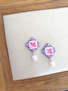 Dreams Blossoms Tiles Series Dangle 7