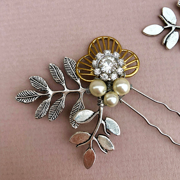 Enna Wedding Hair, Pins Set of 3