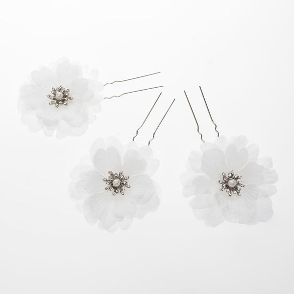 Otillie Bridal Hair Pins, Set of 3