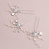 Syrius Bridal Hair Pins, Set of 3