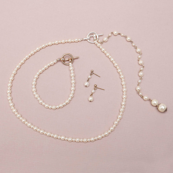 Taylor Bridal Jewellery Set with Back Drop