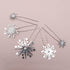 Ursa Bridal Hair Pins, Set of 5