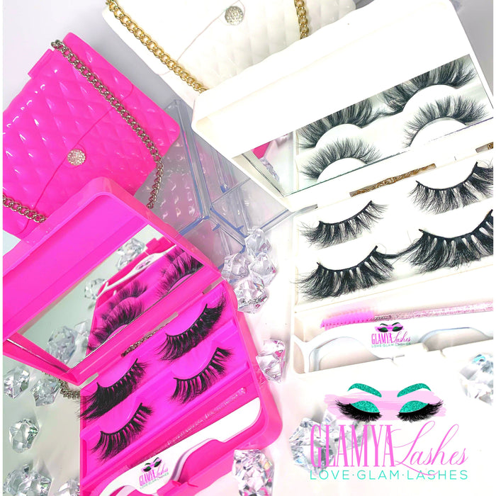 LASH CARRIER Beauty Purse Set  | 2 Styles+ Applicator