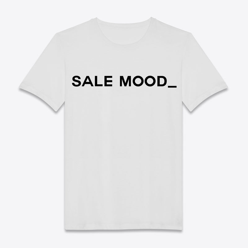 T-shirt Sale Mood Blanc