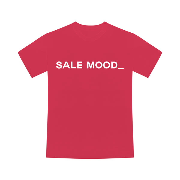 T-shirt Sale Mood Rouge