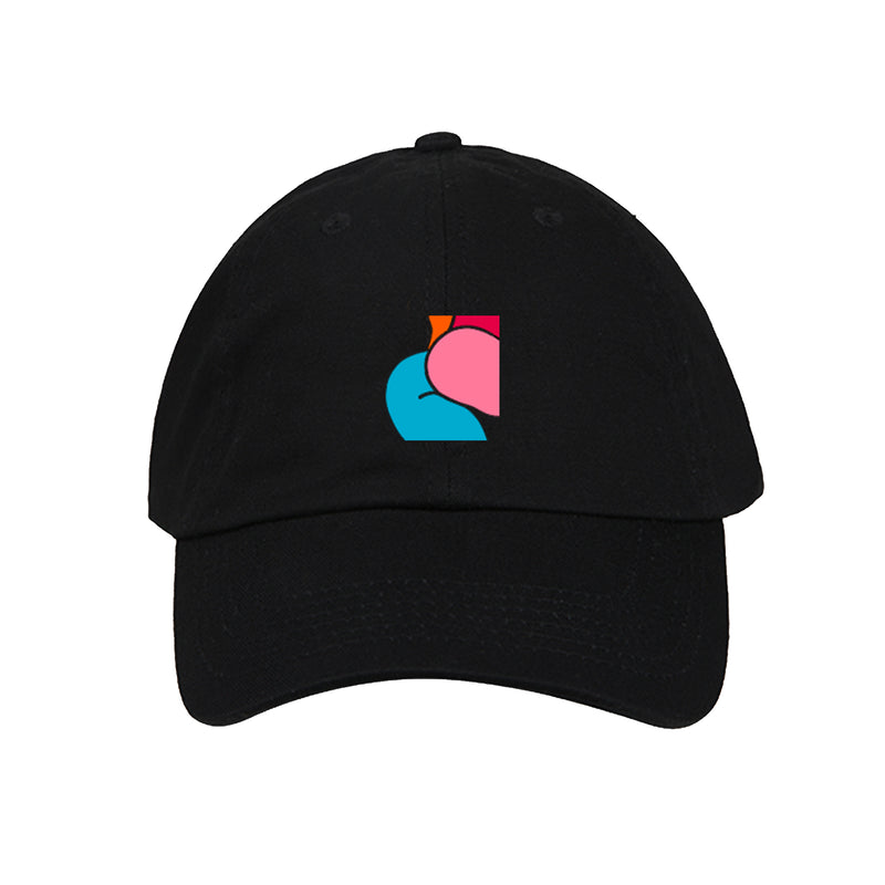 "Casquette ""NO PROBLEMS. GIRL"" Noir"