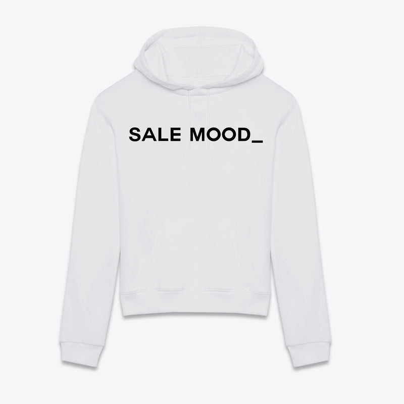 Sweat Sale Mood Blanc