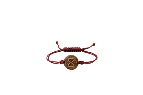 Red Miami Voyager Bracelet | Rose Gold