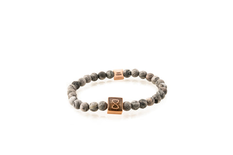Grey Saint Barth's Classic Bracelet | Rose Gold