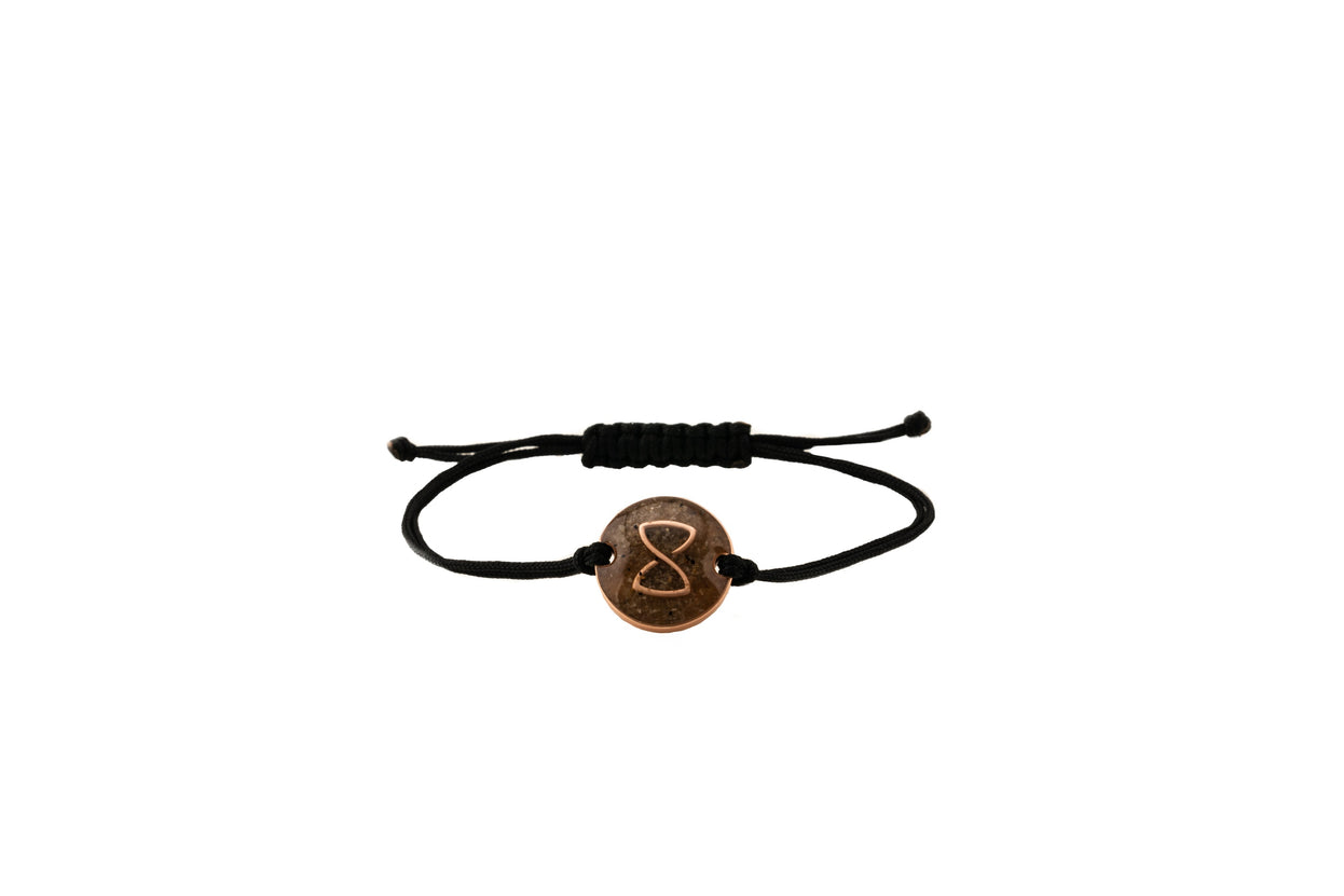 Black Miami Voyager Bracelet | Rose Gold