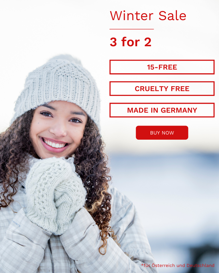 Christmas sale 2 for 3, 15-free, Made in Germany, cruelty free