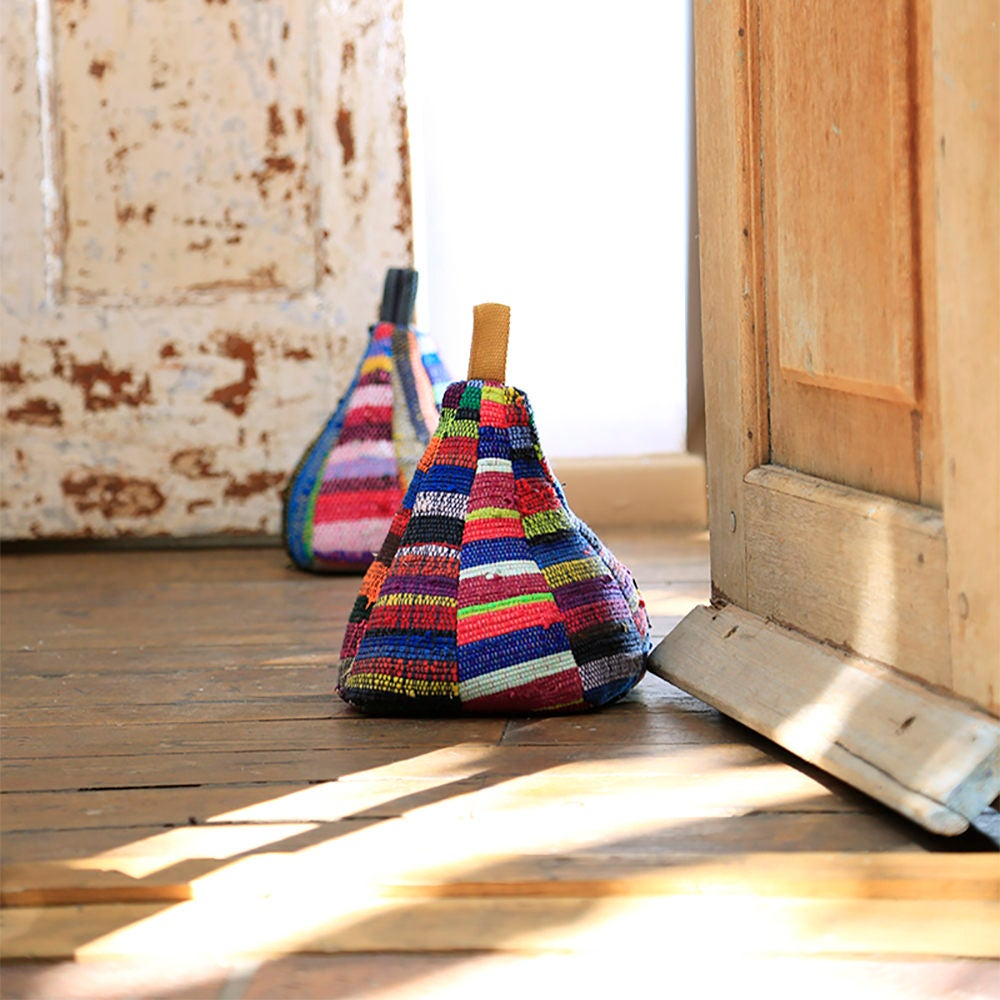 Multi Colored Doorstop