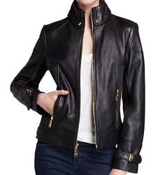 Siaga Women Classic Leather Jackets - Xosack