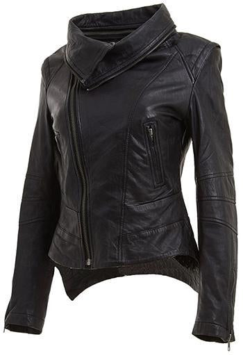 Women Classic Leather Jackets: Springle