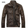 ZOEQO New arrive brand motorcycle leather jacket