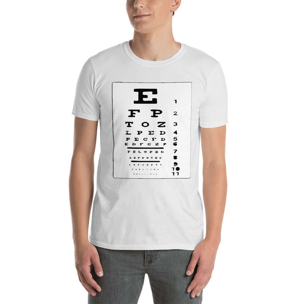 Funny see test - Men T-Shirt [S - 3XL]