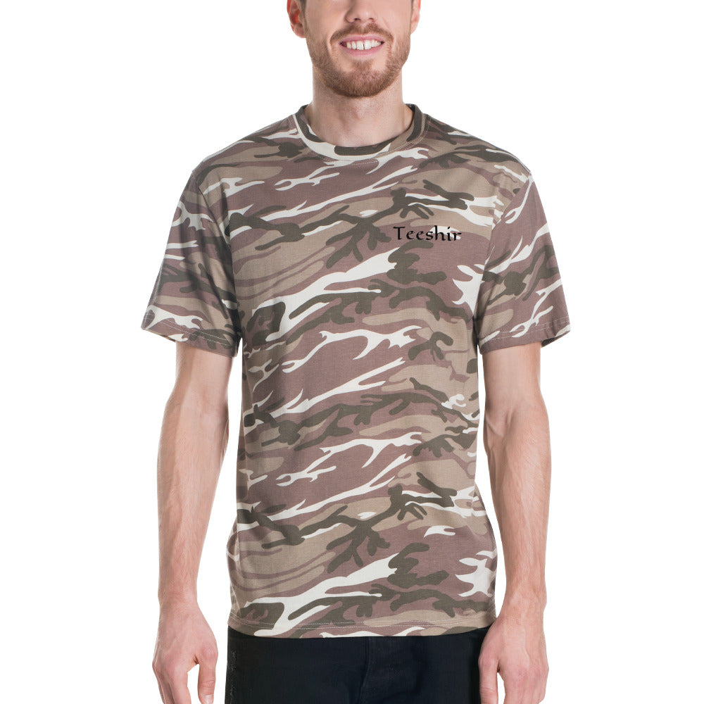 Teeshir - Men Camouflage T-Shirt [S - 2XL]