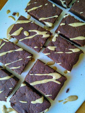 Fudgy Chocolate Protein Brownies