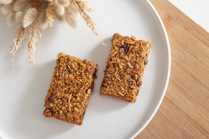 Ginger Oat Bumper Bars
