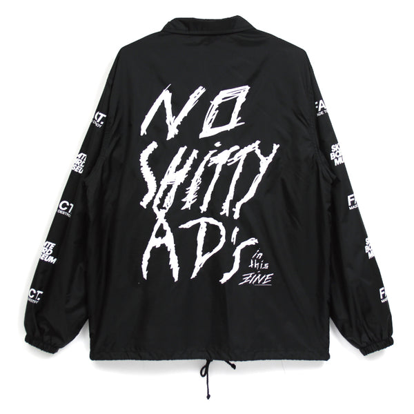 NO SHITTY ADS Coach Jacket