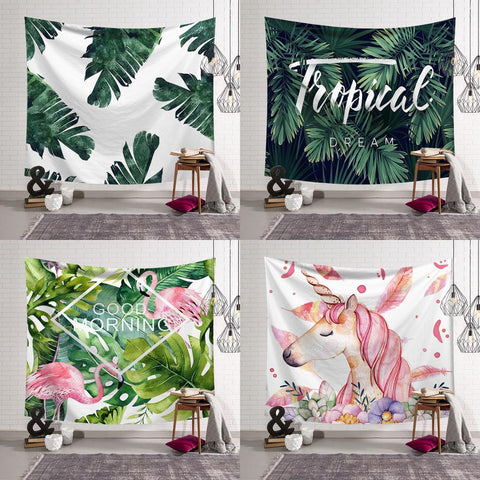 Tenture Art Tropical