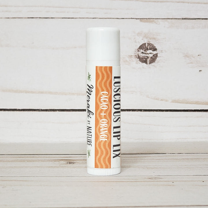 Lip Lix Balm (Cacao + Orange)