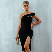 Load image into Gallery viewer, One Shoulder Party Dresses