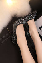 Load image into Gallery viewer, Crystal High Heel Shoes