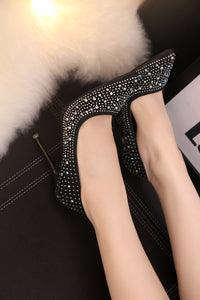 Crystal High Heel Shoes