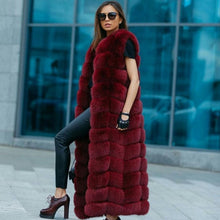 Load image into Gallery viewer, Long Faux Fur Vest