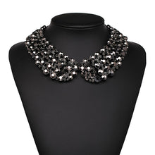 Load image into Gallery viewer, Crystal Collar-Style Necklace
