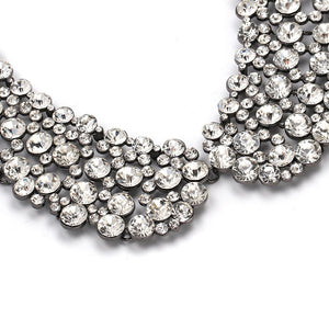Crystal Collar-Style Necklace
