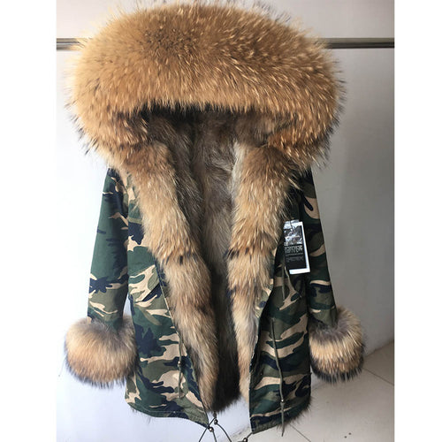Fur Coat Parka