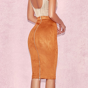 High Waist Pencil Skirt
