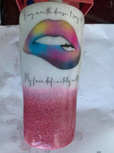 Load image into Gallery viewer, Luxury Tumblers 20oz full glitter ombre modern curve