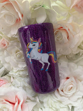 Load image into Gallery viewer, Luxury Tumblers 15oz Full glitter tall skinny