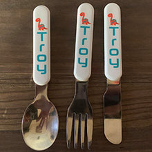 Load image into Gallery viewer, Children's cutlery set