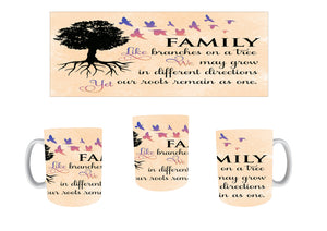 Family tree mugs